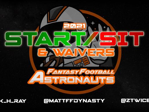 Week 7 Fantasy Football Start/Sit & Waivers
