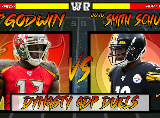 Chris Godwin Vs JuJu Smith-Schuster - Dynasty ADP Duels