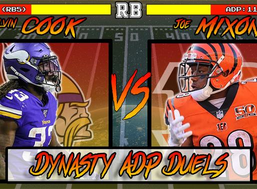 Dalvin Cook Vs Joe Mixon - Dynasty ADP Duels