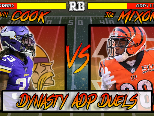 Dalvin Cook Vs Joe Mixon - Dynasty ADP Duels