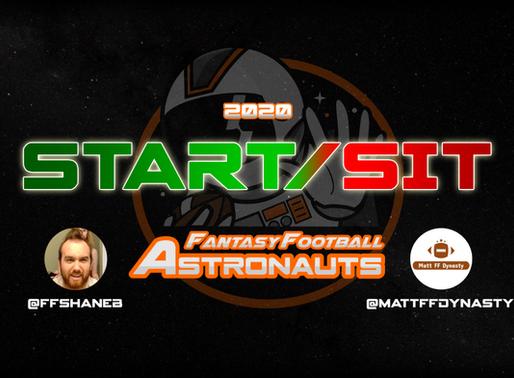 Week 2 Fantasy Football Start/Sit