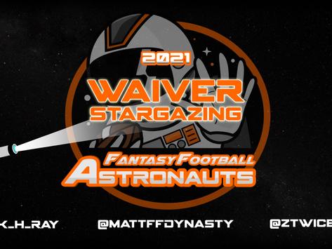 Week 6 Waiver Stargazing