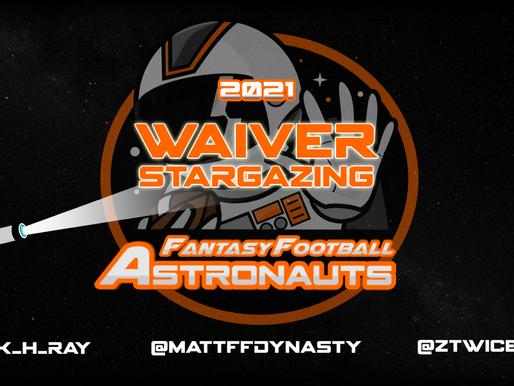 Week 8 Waiver Stargazing