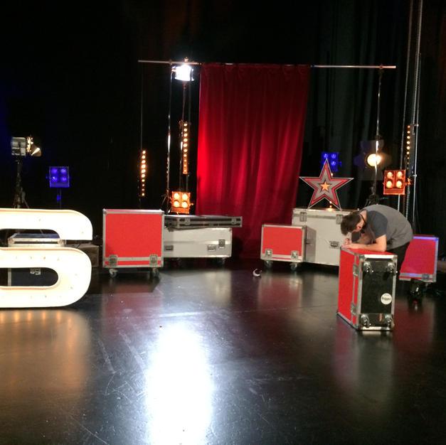 Set design for Stage