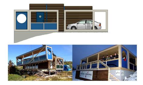 Eksteriør, montasje og fasade