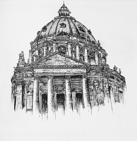 Frederick's Church - Copenhagen