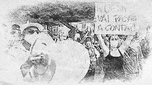 Os Donos de Bares e o Decreto. O Protesto e a Falência