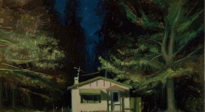 Nocturne Eagle River WI. Cabin