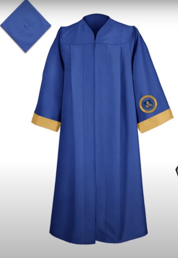 Caps and gowns are available to be picked up during lunches Friday, May 14th!