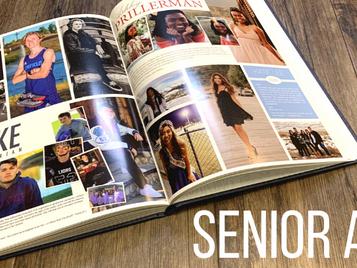 Senior ads are due Friday, Dec. 4th!