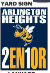 Let your neighbors know you're a Yellow Jacket Senior!