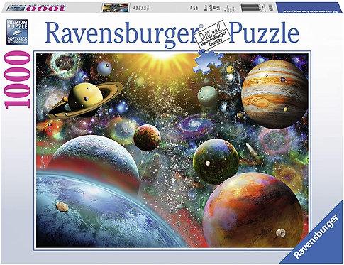 Rompecabezas 1000 piezas Planetas Ravensburguer