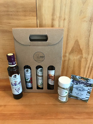 Any 4 Olive Oil/Balsamics plus 2