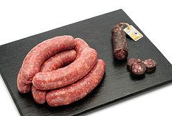 Saucisse au figatelli, fabrication artisanale, Comptoir des Salaisons, Provence Charcuterie