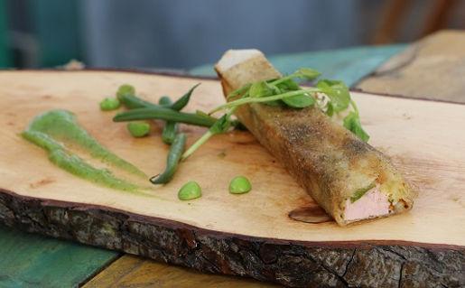 Jambon l'Estaque, crousti'jambon,idée recette, conseil, Chef marseillais, Christian Ernst, Provence, Charcuterie, Comptoir des Salaisons
