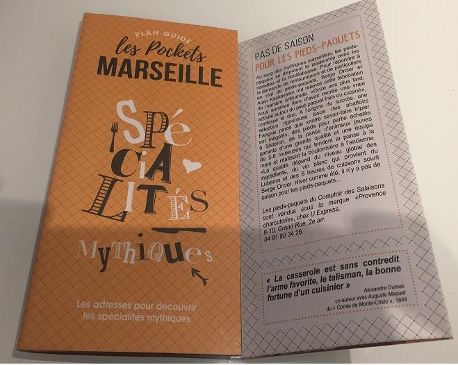 Pockets de Marseille : les pieds et paquets marseillais