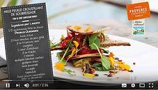 vidéos millefeuille soubressade, recette, Christian Ernst, artisan, gastronomie provencale, provence charcuterie, comptoir des salaisons, provence, idée recette