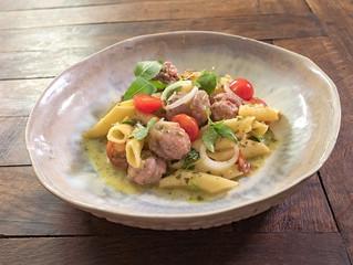 Découvrez notre dernière recette simplissime et gourmande : saucisse italienne et son risotto de pât