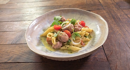 saucisse italienne, rosotto de ates , recette, Comptoir des Salaisons, Provence Charcuterie