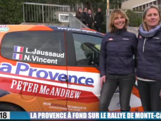 COMPTOIR DES SALAISONS - PROVENCE CHARCUTERIE : SPONSOR DE L'EQUIPE FEMININE DU PROCHAIN RALLYE
