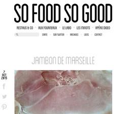 Blog so food so good