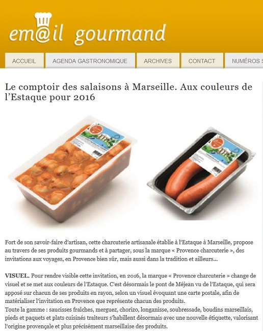 Site Email gourmand- janvier 2016