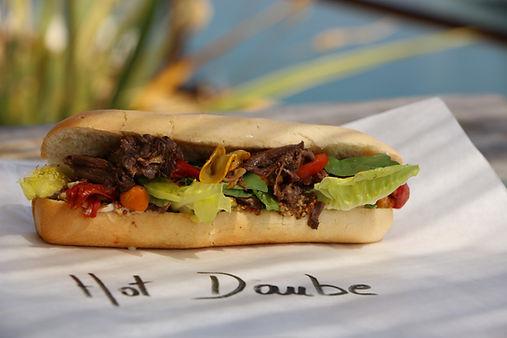 Hot Daube, plats cuisines provencaux, mijotes, chef marseillais, CHristian Ernst, Provence, Charcuterie, Comptoir des Salaisons, recette, dressage