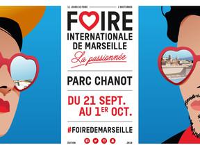Venez nous retrouver sur la Foire Internationale de Marseille du 22 au 24 septembre 2018 et (re)déco