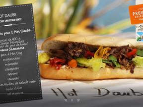 Découvrez et visionnez notre nouvelle recette de  Daube Provençale en mode snacking par Christian Er