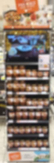Display bocaux Plats cuisinés festifs - animations, magasin, mise en avant, Provence, Charcuterie, Comptoir des Salaisons, gastronomie provencale