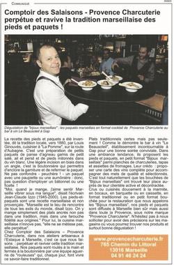 Article La Provence - 31 10 2019 OK