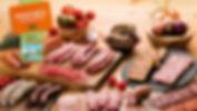 GAmme Charcuterie artisanale BIO- chipolata bio, merguez bio, jambon BIO, Boudins BIO