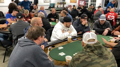 Vertical Men Poker Night