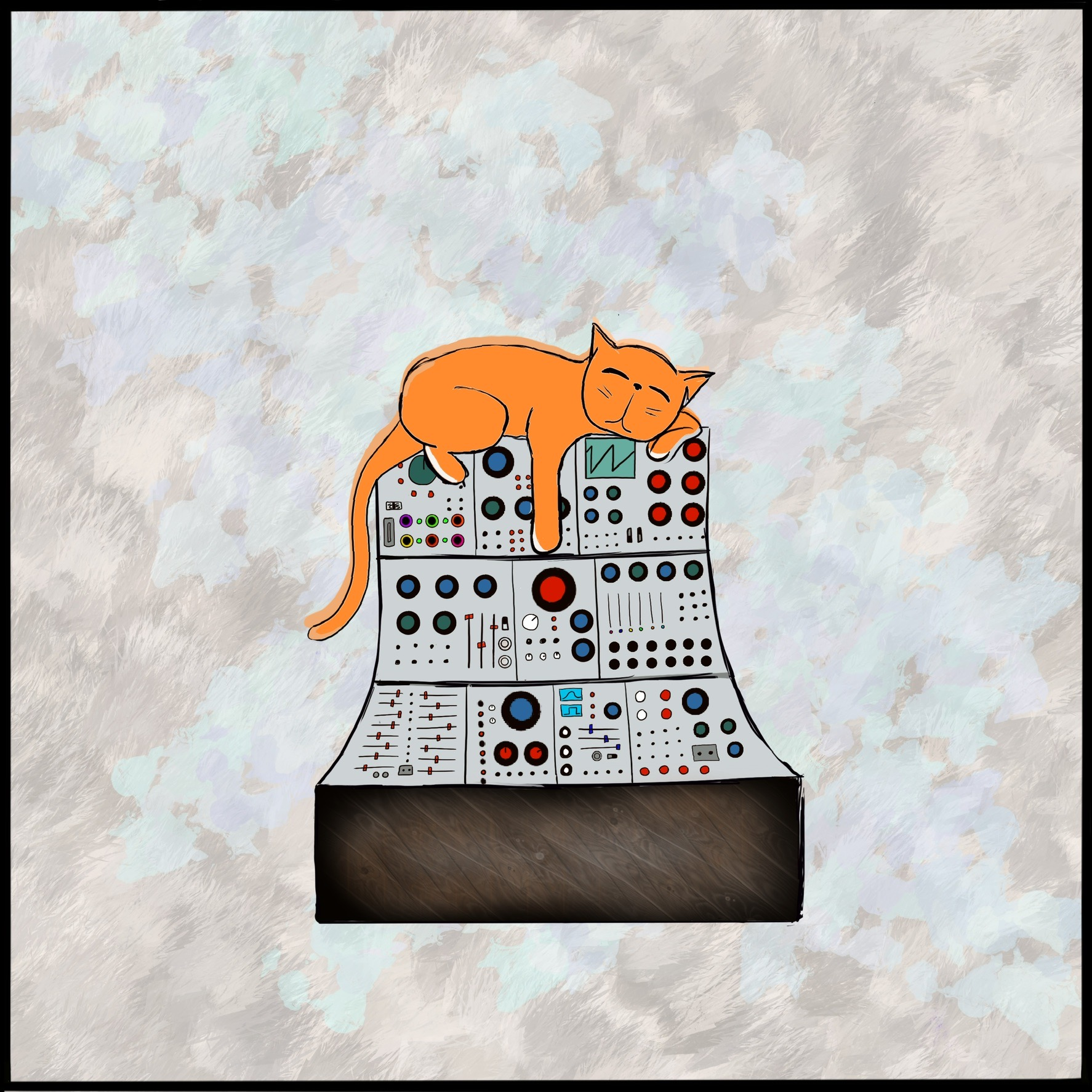 Sleepy Cat on Synth