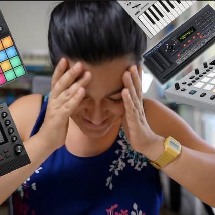 Groovebox vs. Synth Setup