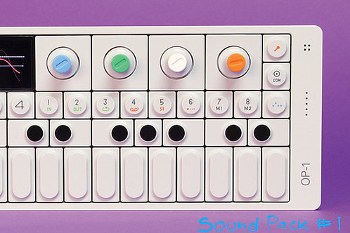 OP-1 Sound Pack Vol. 1