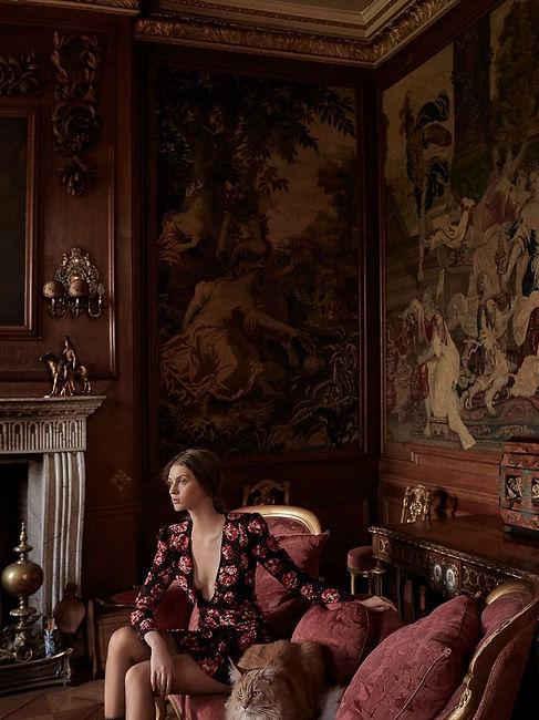 Harper's Bazaar UK September 2018 Floren