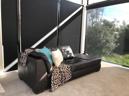 Weathermaster's double roller blind system
