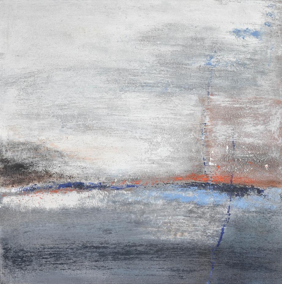 Horizont blau-grau