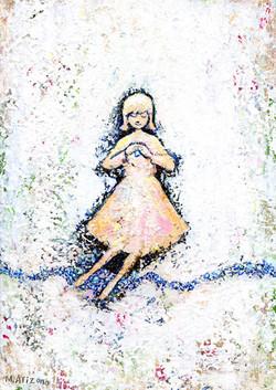 a girl