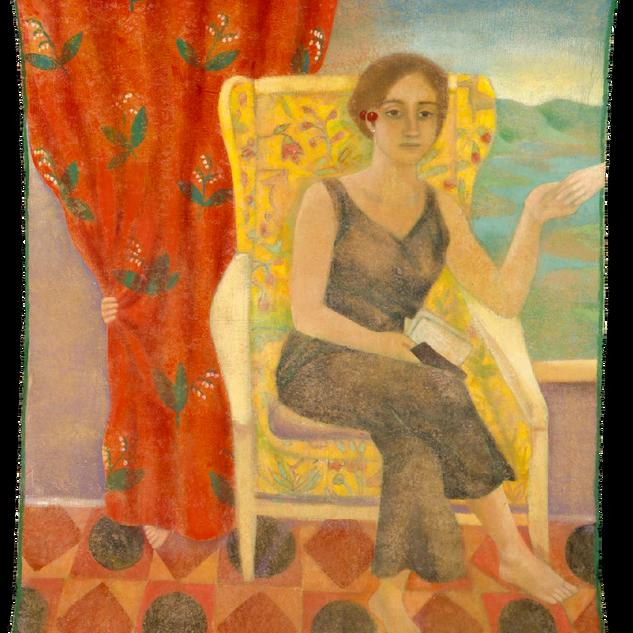 Maria Chiara, tempera su tela, 140x120 c
