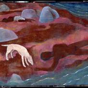 _, pigmenti su tela, 148 x 160 cm, 2008.