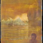 The Shipwrecked Blues, pigmenti su tela,
