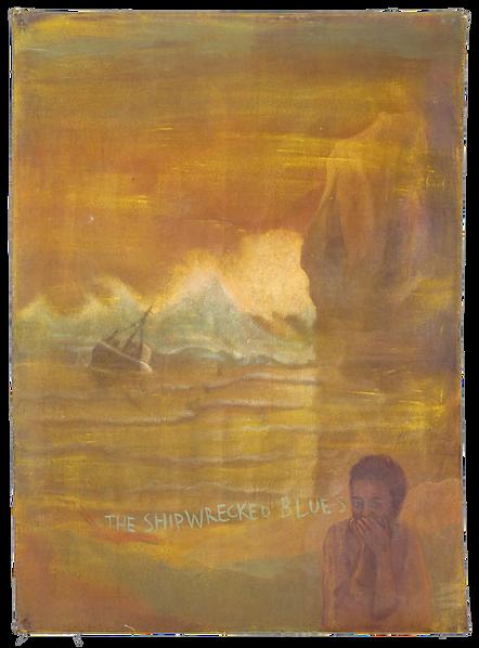 The Shiwrecked Blues, pigmenti su tela,