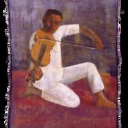 Ravi, tempera su tela, 160x120 cm, 1998.