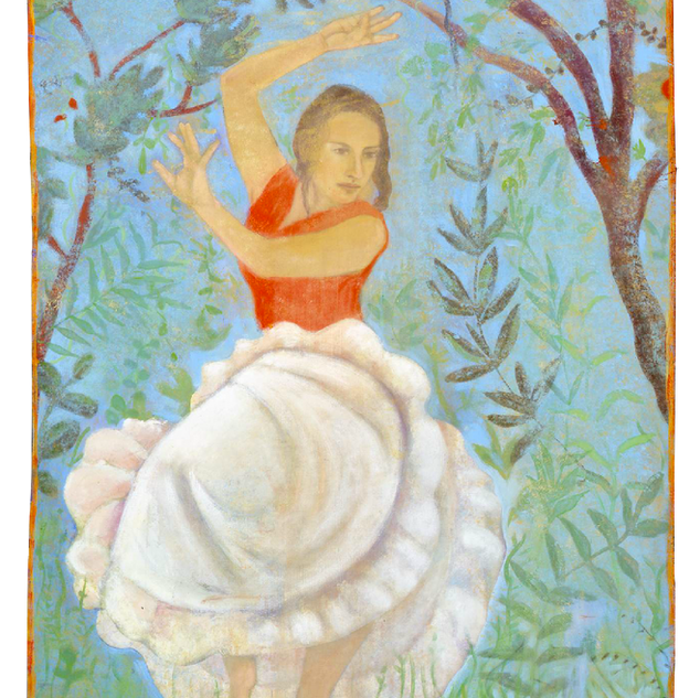 Giorgia, tempera su tela, 180x120 cm, 20