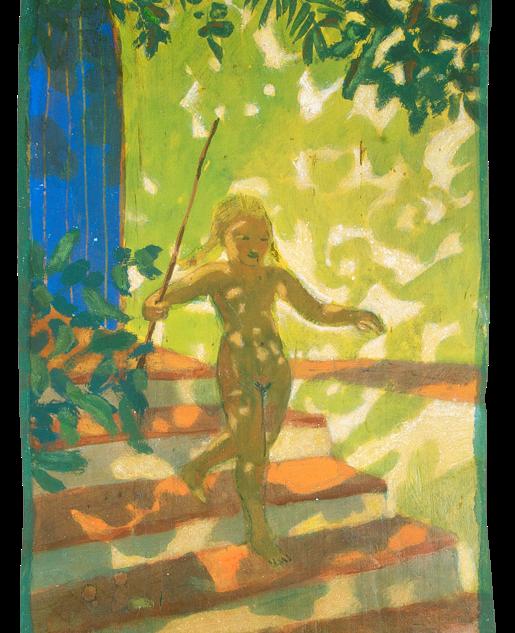 Lebenstanz, pigmenti su legno, cm 52x25,