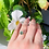 Thumbnail: The Penelope Emerald Solitaire Ring