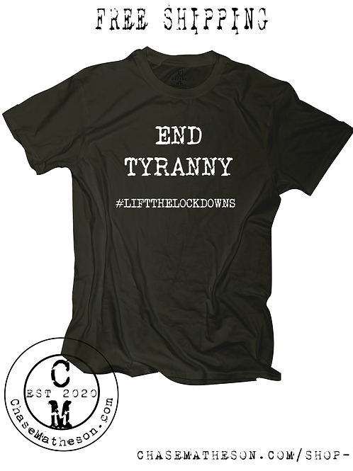 End Tyranny T Shirt