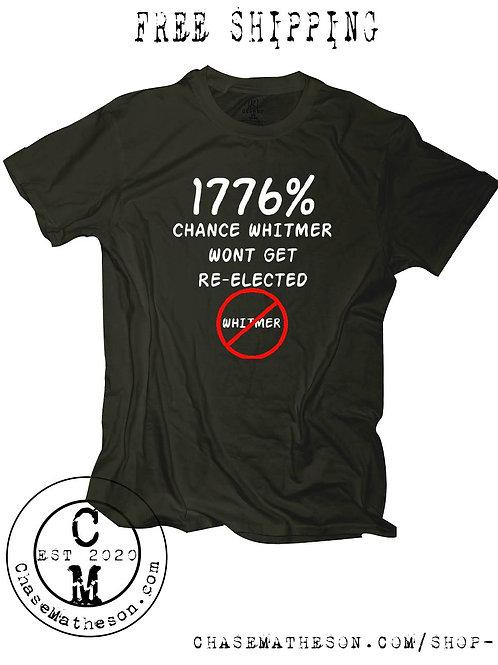 1776 Whitmer T Shirt